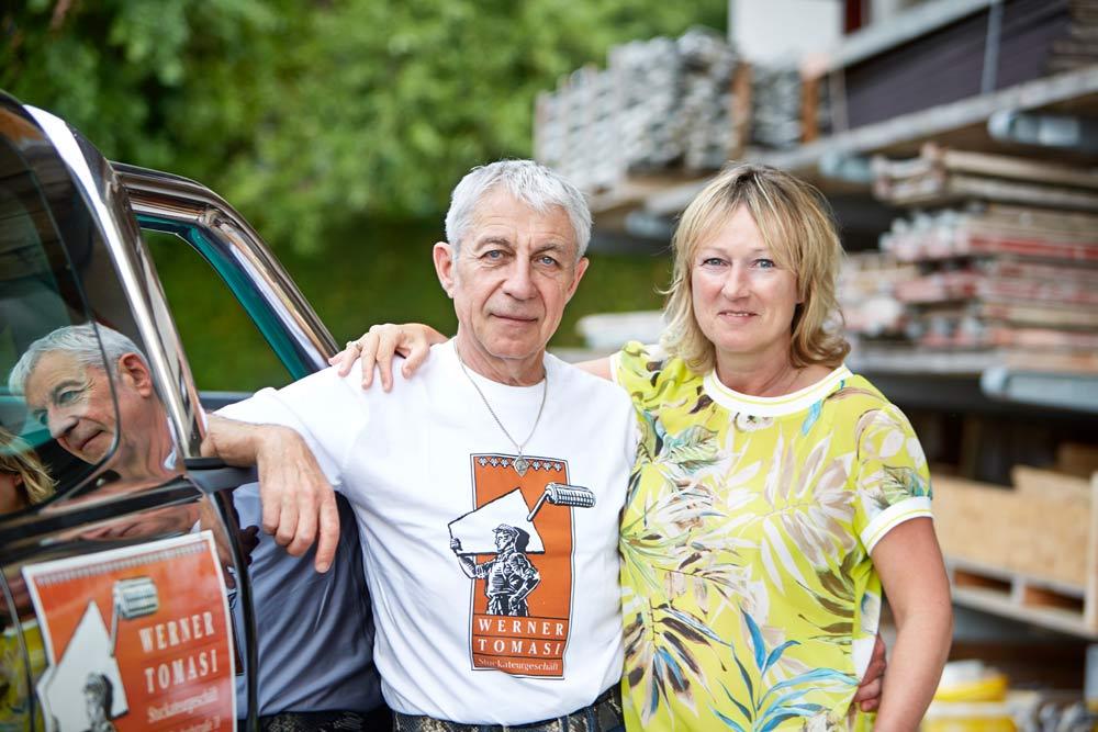 Werner und Ellen Tomasi